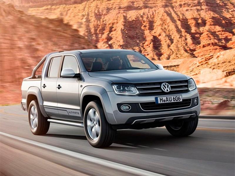 Новый Volkswagen Amarok - Volkswagen Amarok Ultimate 2015 Знаки отличия