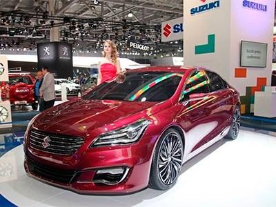 Suzuki представил концепт нового представительского седана CIAZ