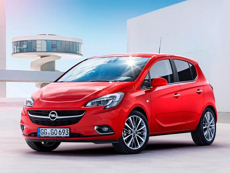 Opel Corsa 2015 С изюминкой