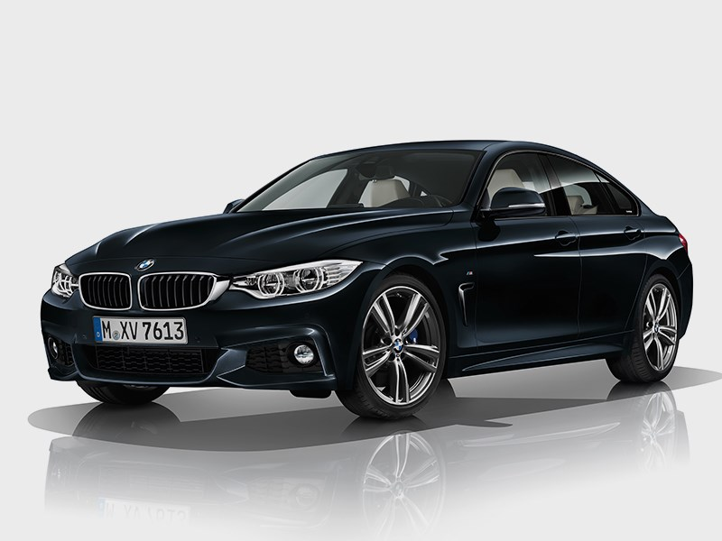 BMW 4 Series Gran Coupe 2014 вид спереди фото 4