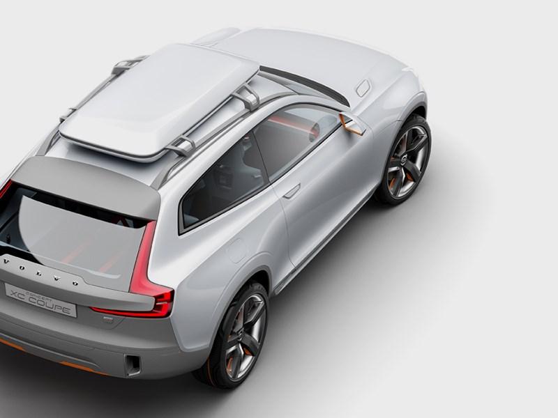 Volvo XC Coupe concept 2014 вид сверху фото 3