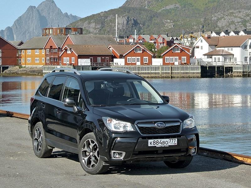 Subaru Forester - знакомство с северной норвегией на автомобилях subaru. на крючке