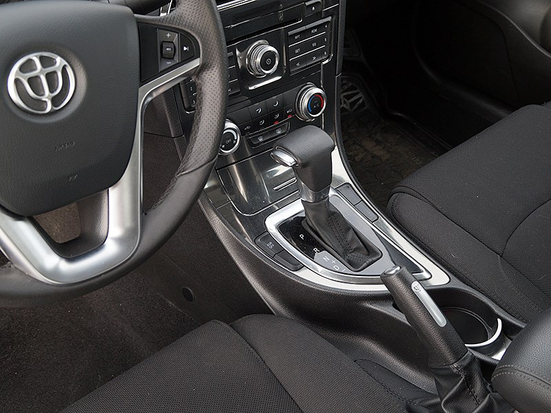 Brilliance H530 2014 рукоятка АКПП