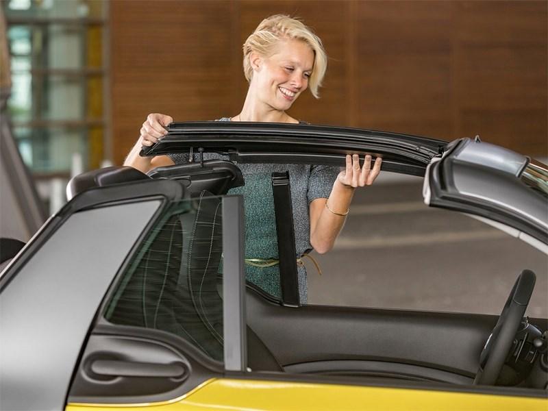 Smart ForTwo Cabrio 2016 трансформация