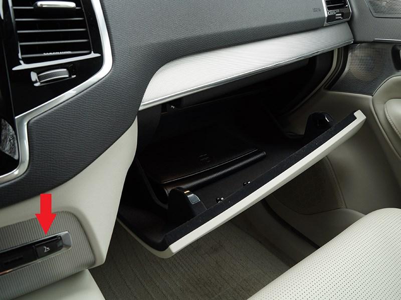 Volvo XC90 2015 перчаточный ящик