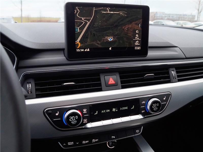 Audi A4 2016 навигация