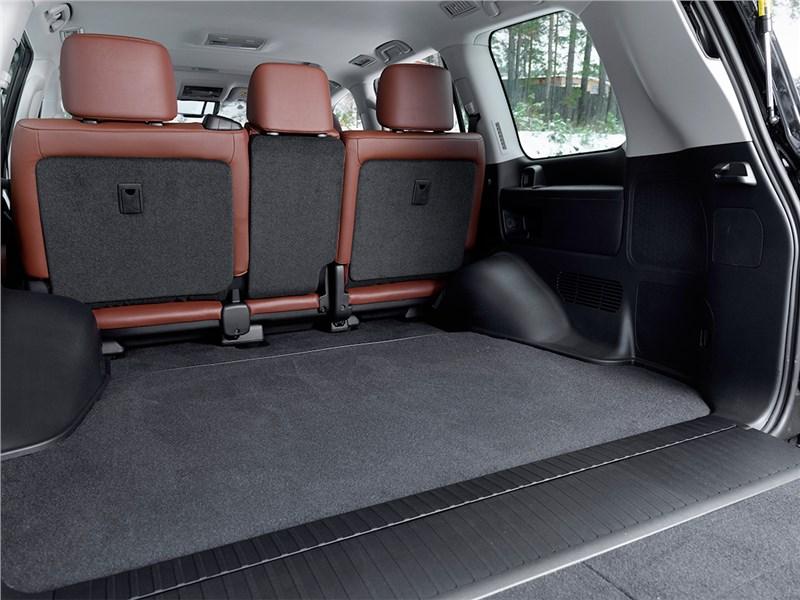 Toyota Land Cruiser 2016 багажное отделение