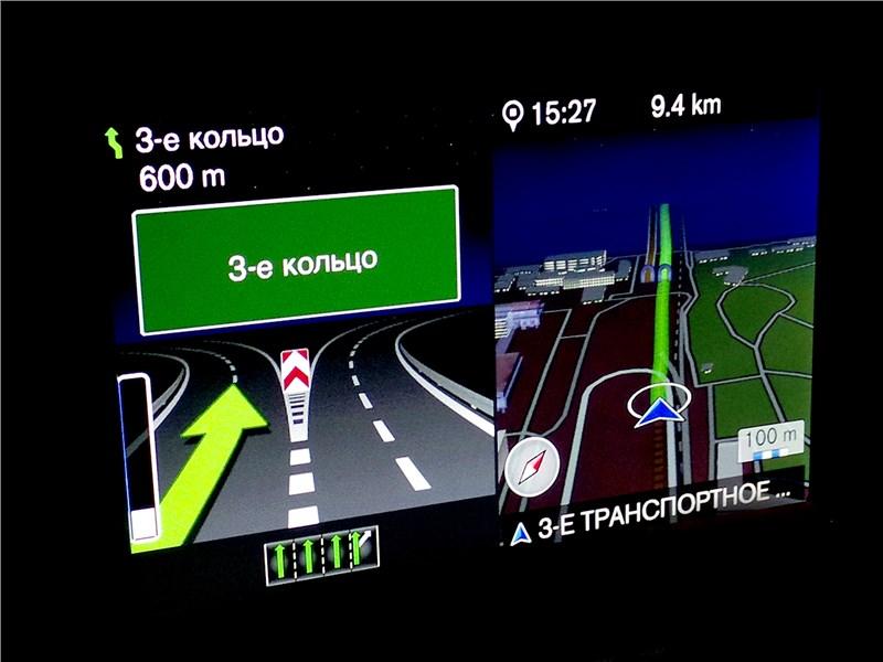 Volvo V60 Cross Country 2015 экран мультимедиасистемы