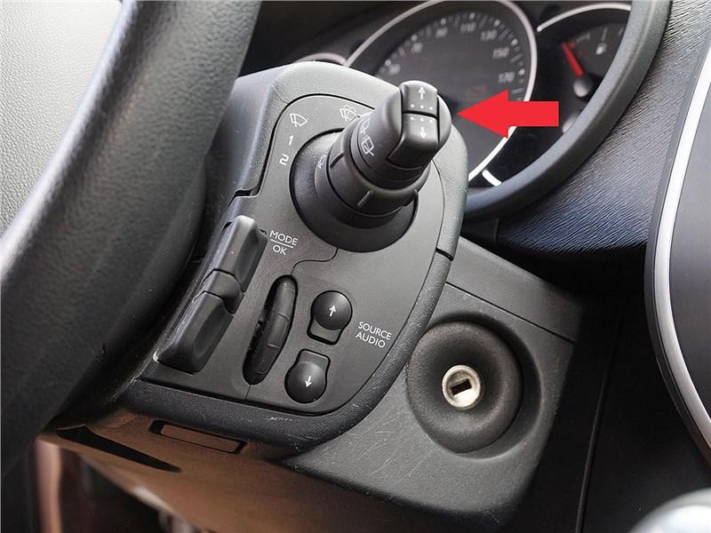 Renault Kangoo 2014 подрулевой переключатель