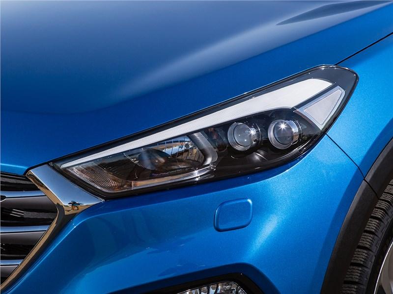 Hyundai Tucson 2016 передняя фара