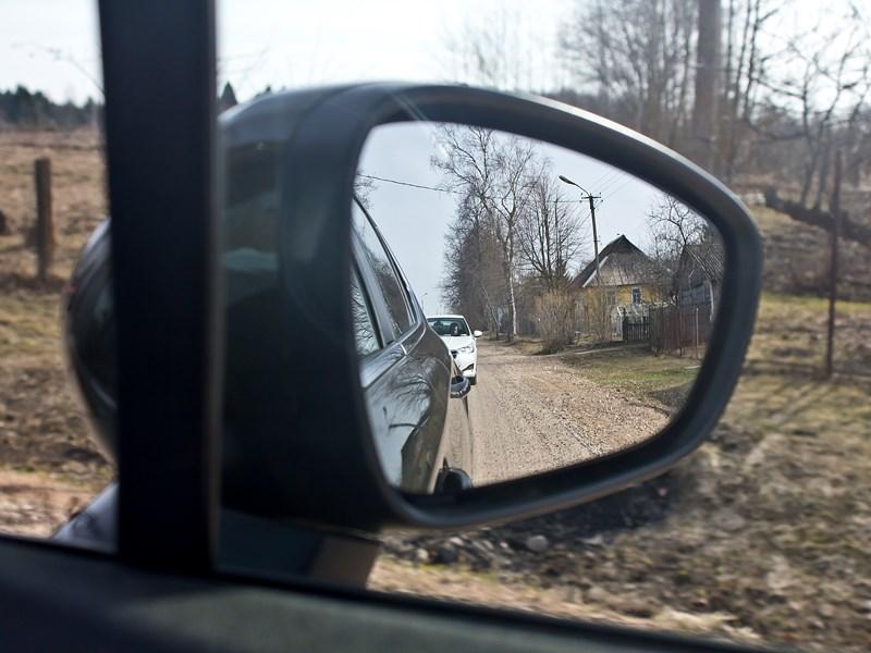 Citroen C4 sedan 2013 боковое зеркало