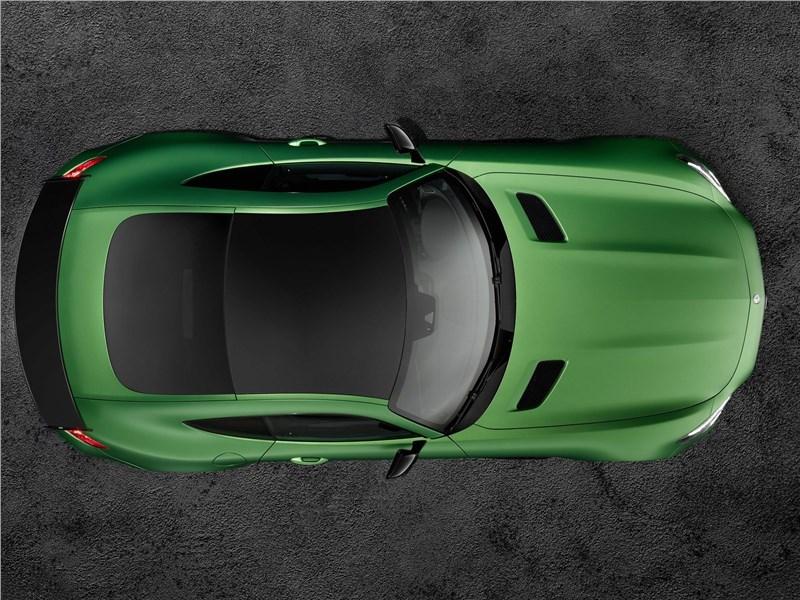 Mercedes-AMG GT R 2017 вид сверху