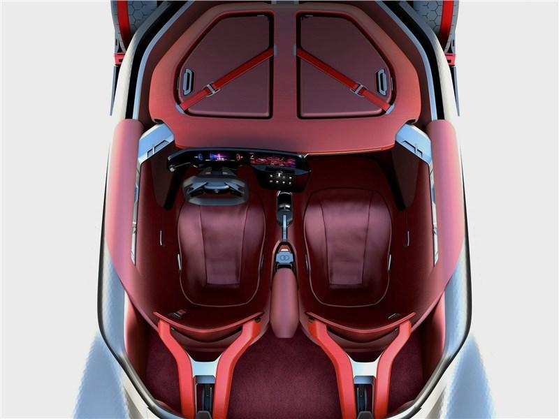 Renault Trezor Concept 2016 салон