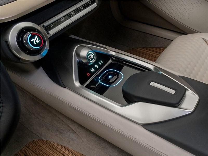 Nissan Vmotion 2.0 Concept 2017 центральный туннель