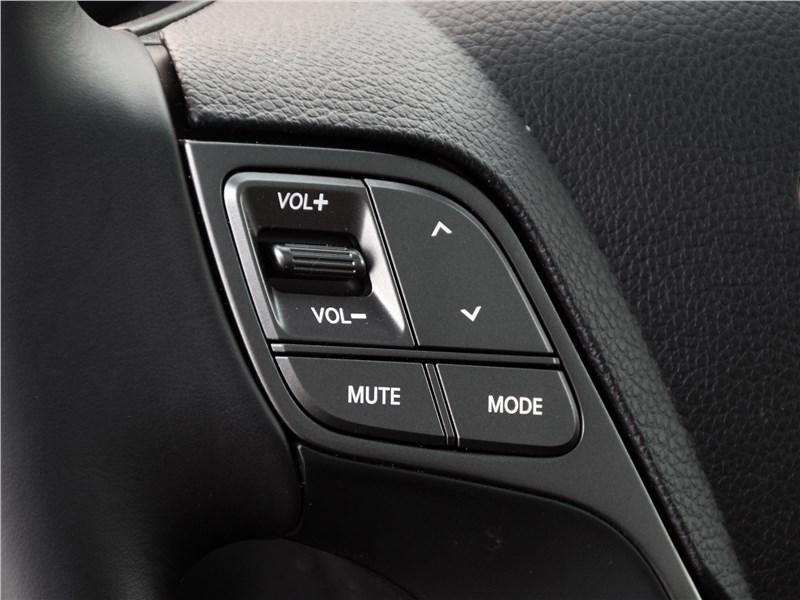 Hyundai Santa Fe 2015 руль