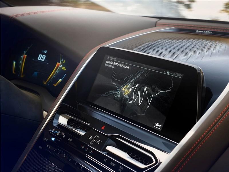 BMW 8-Series Concept 2017 центральная консоль