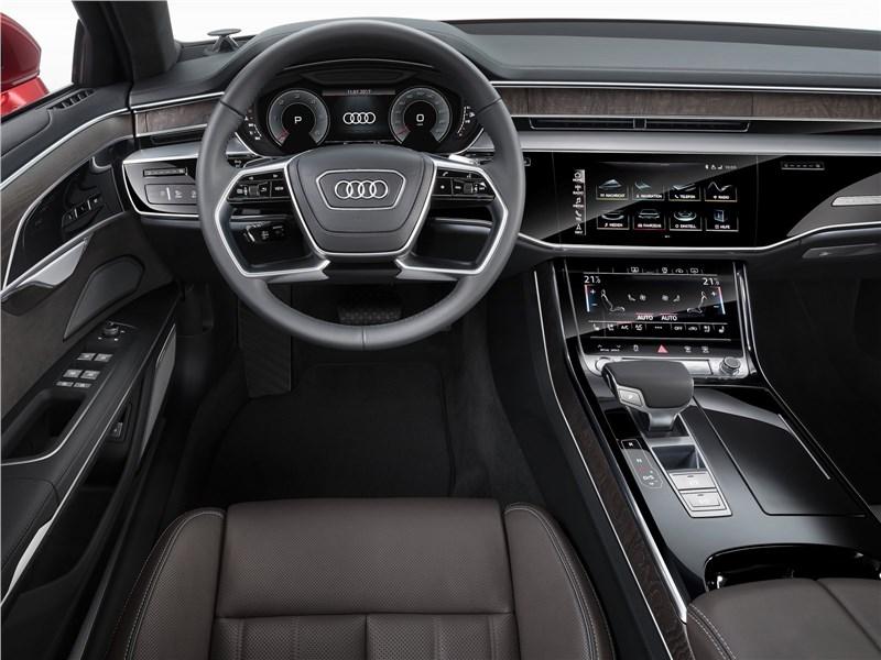 Audi A8 2018 салон