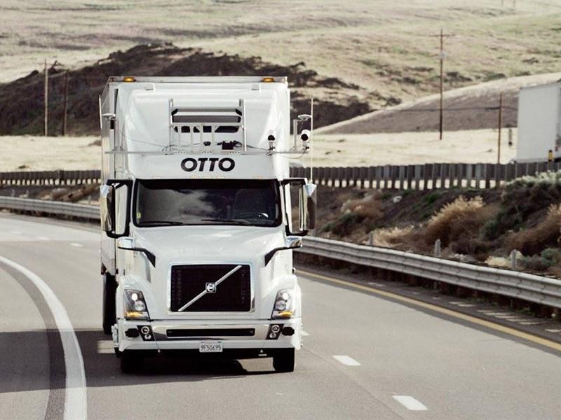 Uber свернул работы над грузовым беспилотником