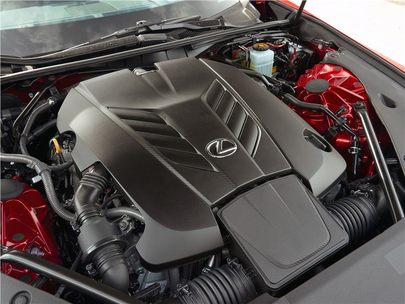 Lexus LC500 2017 двигатель