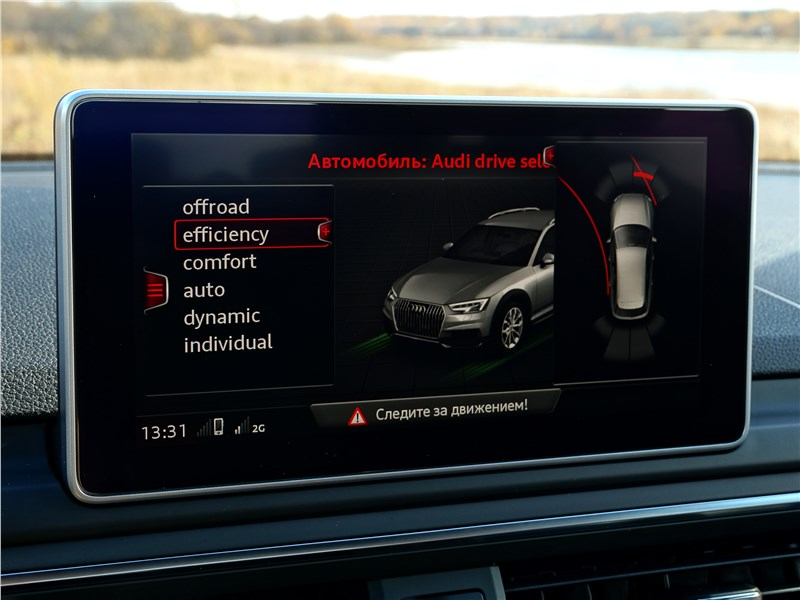 Audi A4 allroad quattro 2016 монитор