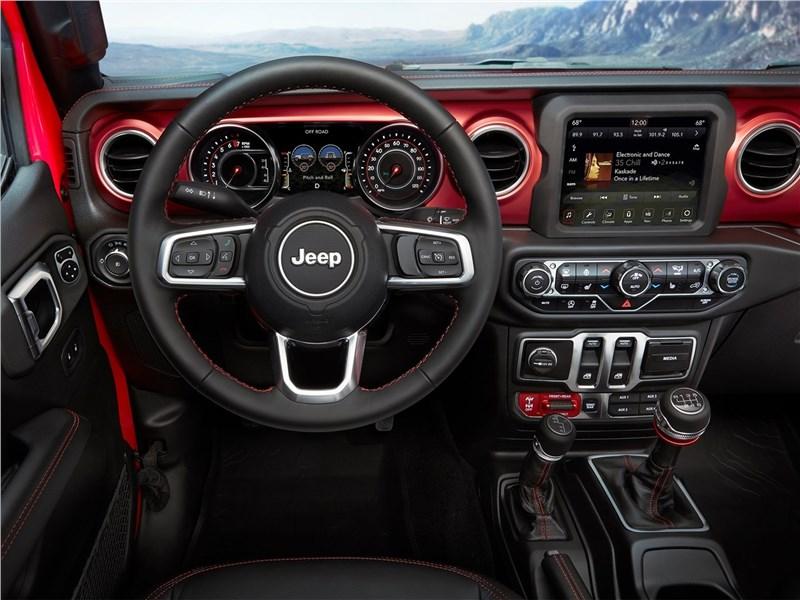Jeep Wrangler 2018 салон