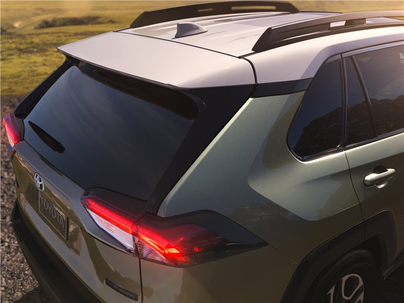 Toyota RAV4 2019 вид сзади