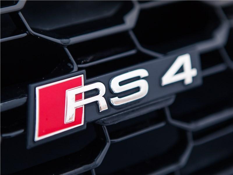 Audi RS4 Avant 2018 логотип