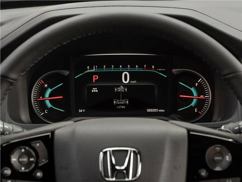 Honda Passport 2019 приборная панель