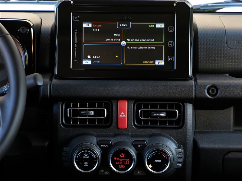 Suzuki Jimny 2019 центральная консоль