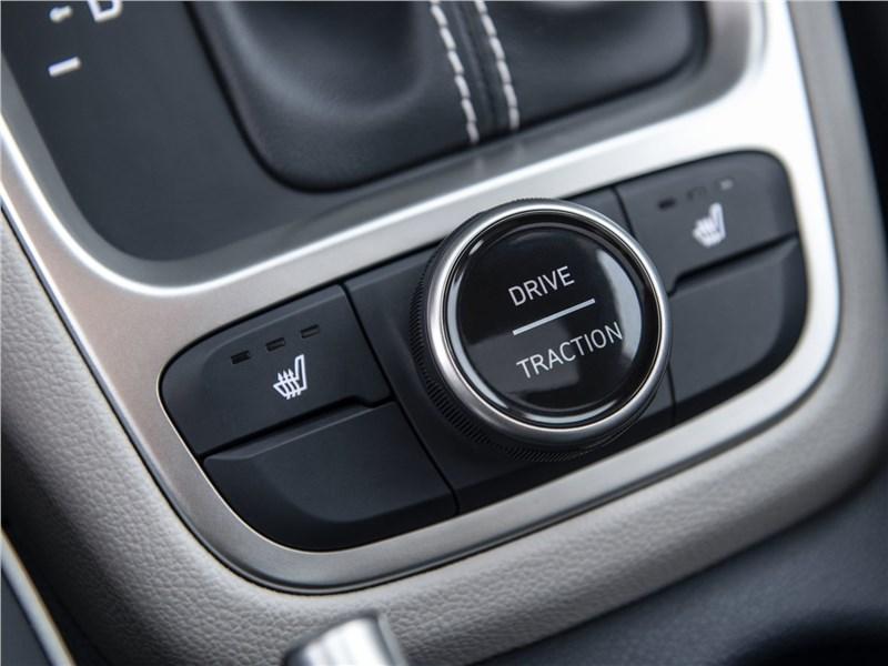 Hyundai Venue 2020 выбор режимов трансмиссии