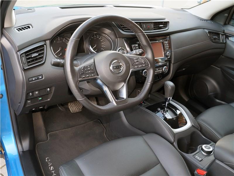 Nissan Qashqai 2018 салон