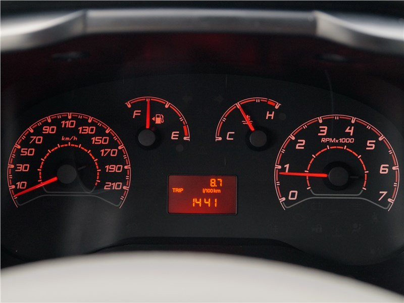 Fiat Doblo 2015 приборная панель