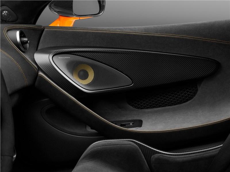 McLaren 600LT 2019 акустика