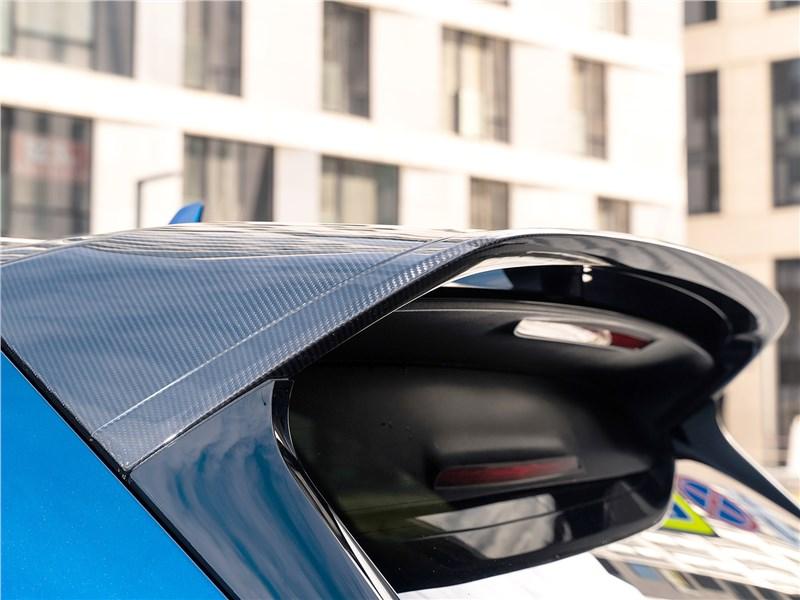 Bentley Bentayga Speed 2020 спойлер