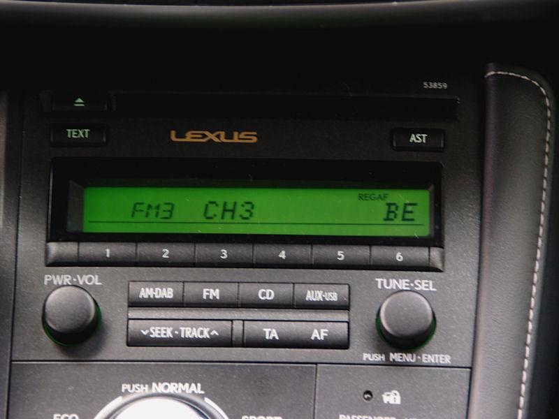 Lexus CT 200h 2011 аудиосистема