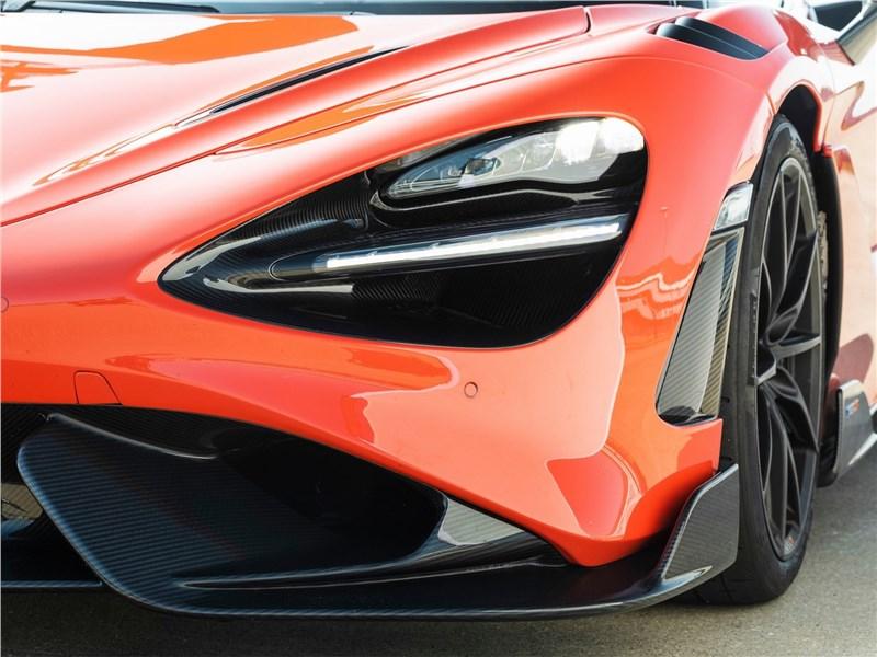 McLaren 765LT (2021) передняя фара