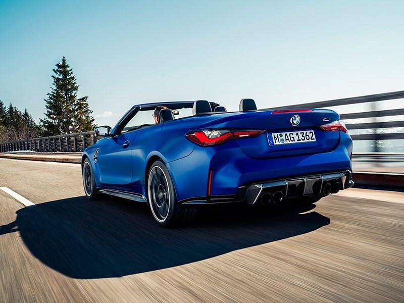 BMW представил M4 кабриолет