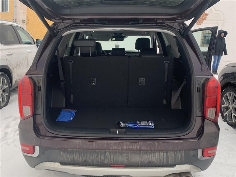 Hyundai Palisade 2020 багажное отделение