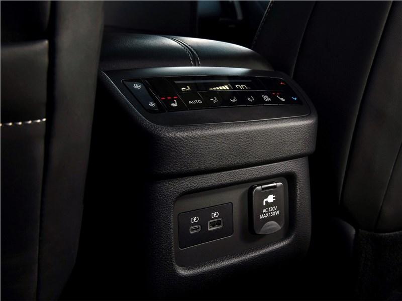 Nissan Pathfinder (2022) печка для второго ряда