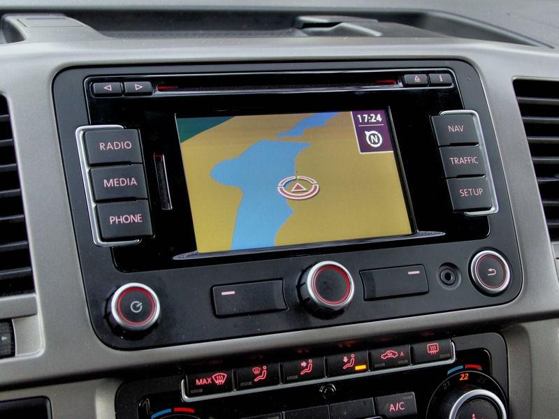 Volkswagen Caravelle дисплей