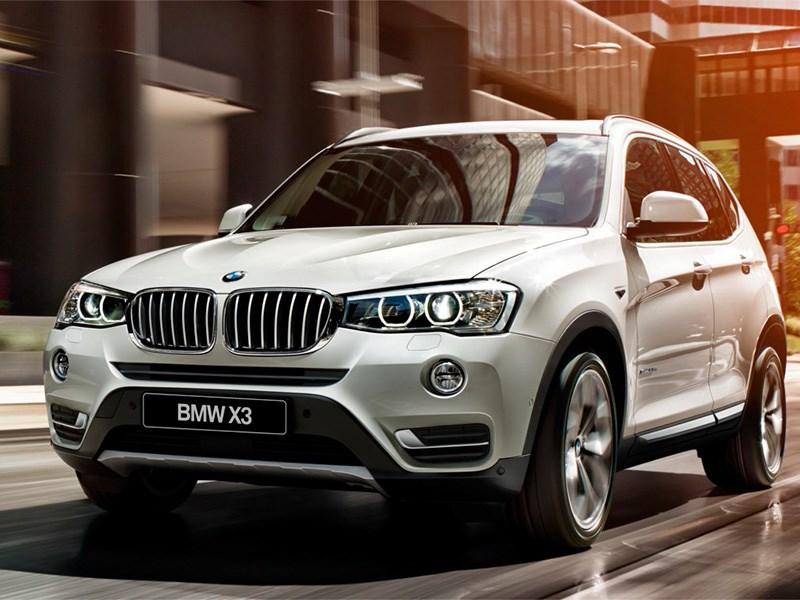 BMW назвала дату премьеры нового поколения X3