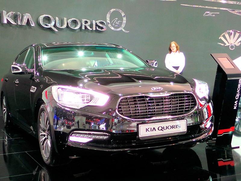 Kia Quoris 2015 еще мощнее