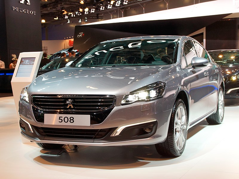 Новый Peugeot 508 - Peugeot 508 2015 Большой бизнес