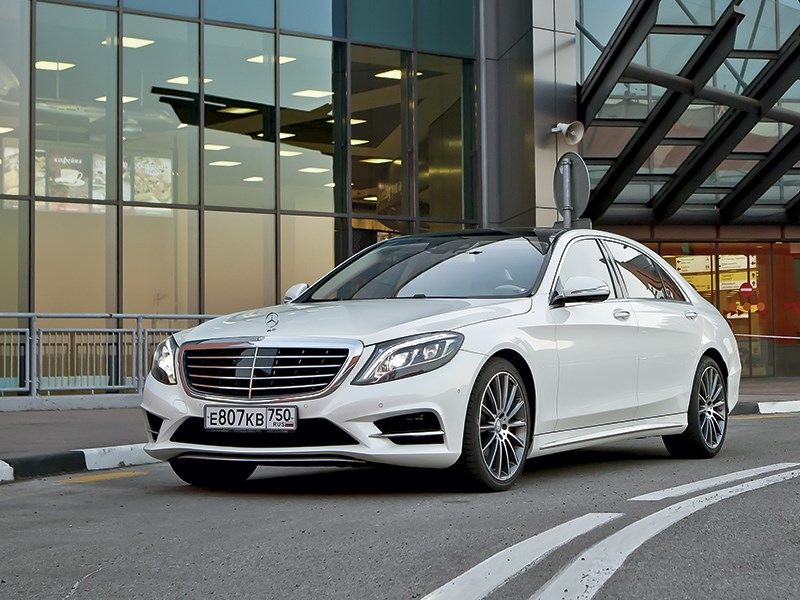 Mercedes-Benz S350 BlueTec 4MATIC 2014 Дело в размере