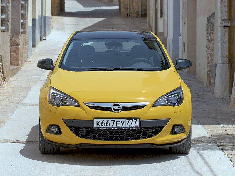 Opel Astra - opel astra gtc 2014 пора расцвета