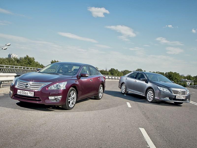 Toyota Camry - nissan teana и toyota camry дежавю