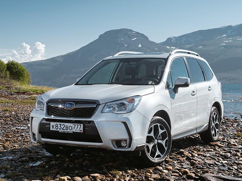 Новый Subaru Forester - Subaru Forester 2013 хранитель ценностей