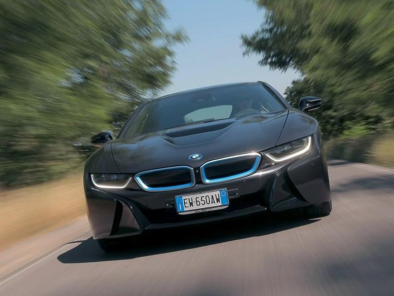 BMW i8 2014 Экодрайв