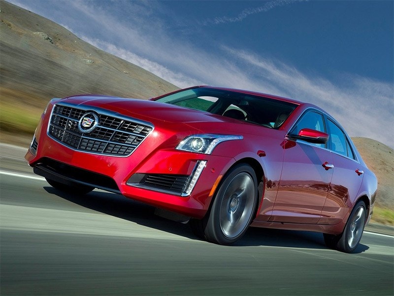 Cadillac CTS 2014 Новые грани