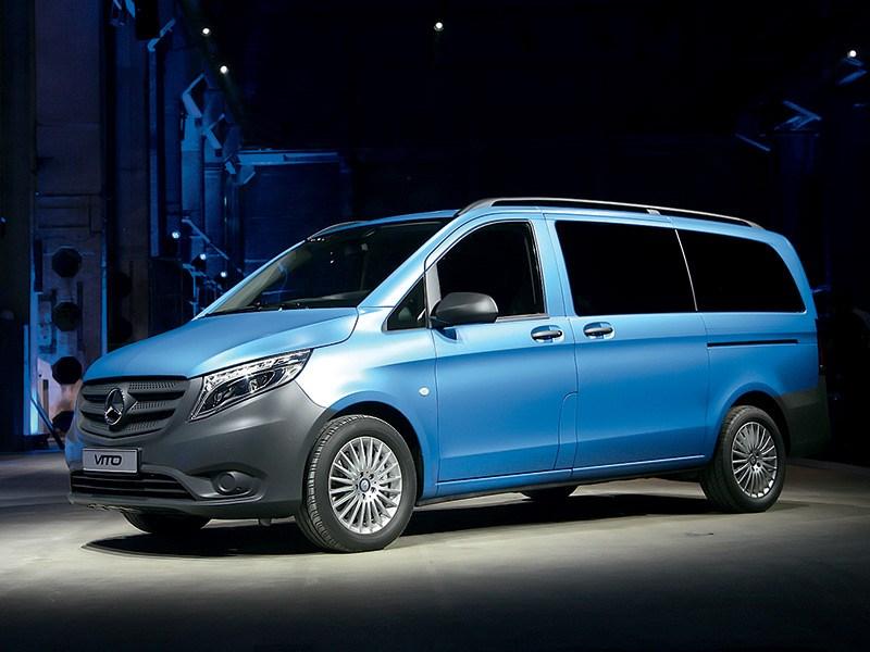 Mercedes-Benz Vito Tourer 2015 Исполняющий обязанности